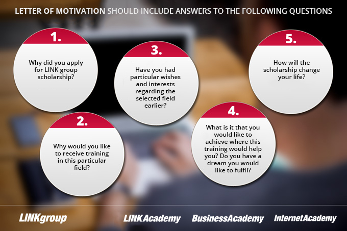 LETTER OF MOTIVATION SHOULD INCLUDE ANSWERS TO THE FOLLOWING QUESTIONS
